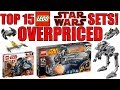 Top 15 OVERPRICED LEGO Star Wars Sets!