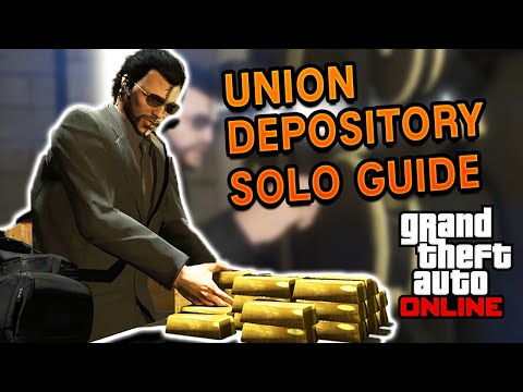 The Union Depository Heist Contract SOLO Guide   GTA 5 Online