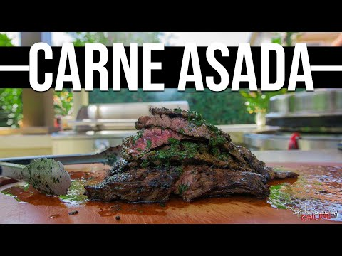 The Best Carne Asada   SAM THE COOKING GUY