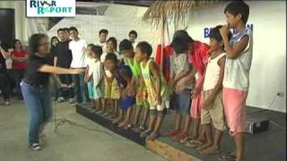 Philippine International English School volunteers in Calauan