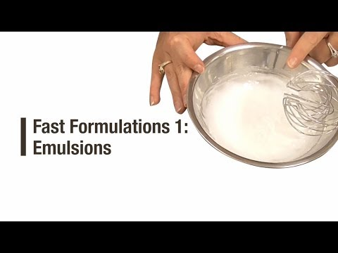 Fast Formulation 1: Emulsions