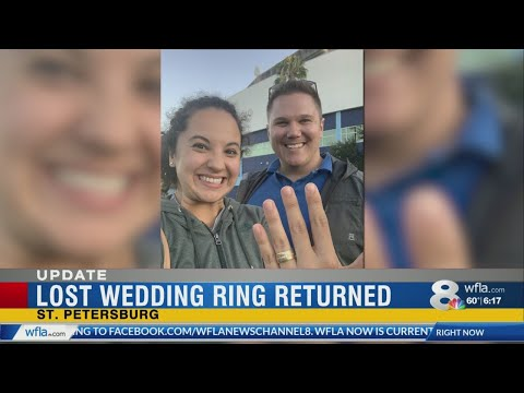 Katie Sommers - HAPPY NEWS: St Pete Woman's Lost Wedding Ring Returned