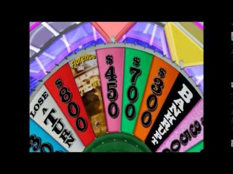Wii U Wheel Of Fortune Wheel In Las Vegas At Venetian Monday Show