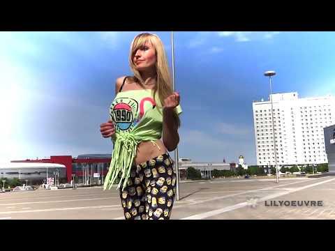 Lady style with Tania, UrbanKiz, Minsk