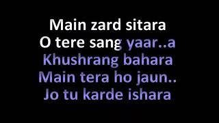 Tere Sang Yaara Karaoke Song Rustom Atif Aslam