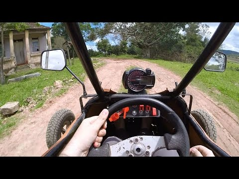 Kart Cross 250cc Buggy Onboard