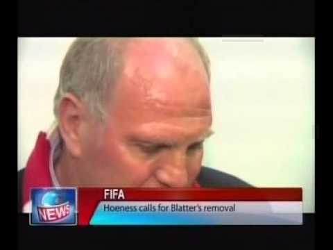 Hoeness Calls for Blatter's removal