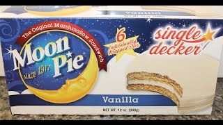 Moon Pie: Vanilla Review – Heated & Unheated