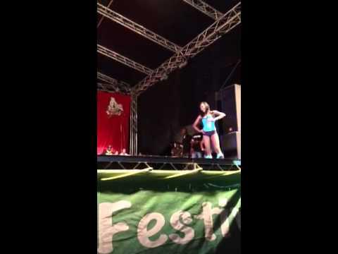 Skinny Fabulous at Soca Frenzy Concert Montserrat Festival