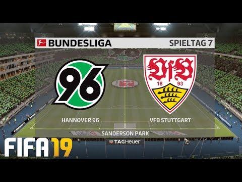 ⚽ FIFA 19 Bundesliga Hannover 96 : VfB Stuttgart 🏆 Gameplay Deutsch Livestream