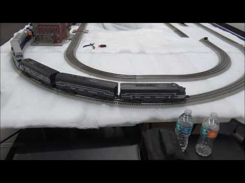 Quick Model Railfanning at the Central Campus Middle School 2-24-18