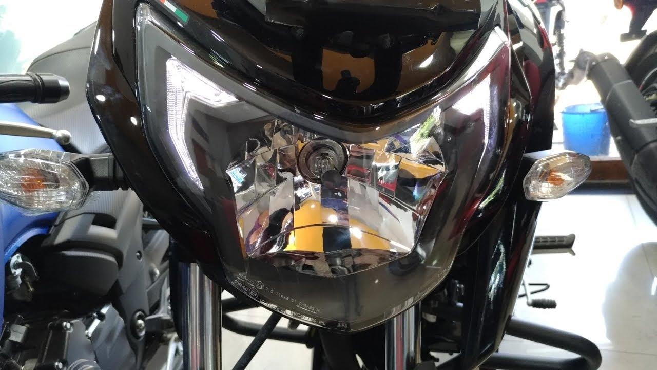 2018 TVS Apache RTR 160 4V Black Colour Walkaround