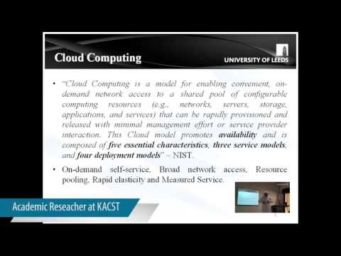 Multi-tenancy in cloud computing