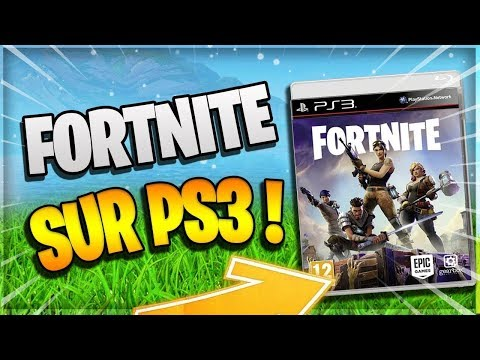 HOW TO DOWNLOAD FORTNITE ON PS3