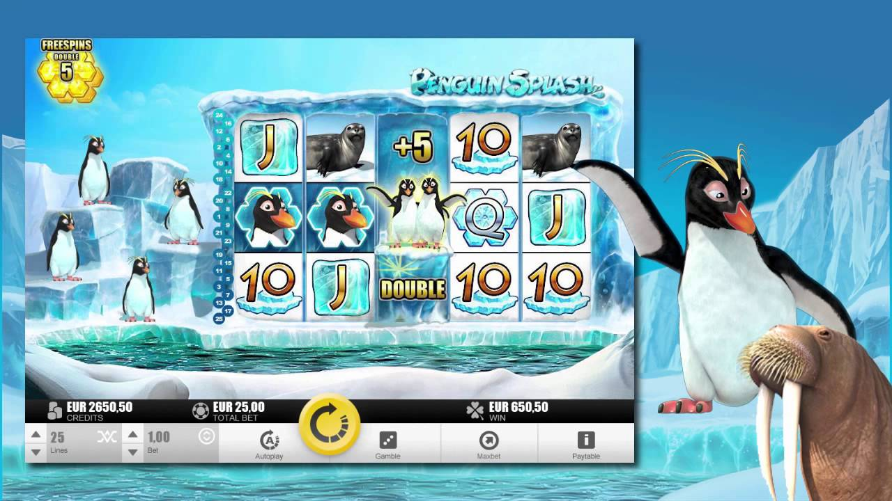 penguin slots for fun no money