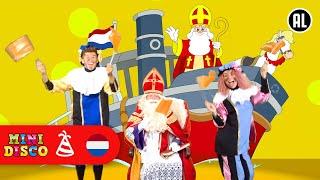 Sinterklaasliedjes |  ZIE GINDS KOMT DE STOOMBOOT | Video | Minidisco | DD Company