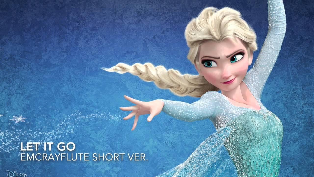 Let It Go (Frozen) - Idina Menzel Flute Cover - YouTube  Let It Go (Froz...