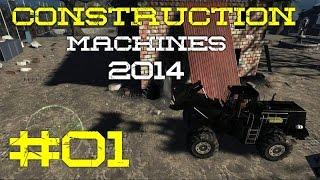 Construction Machines 2014 #01 Baggern was das zeug hält