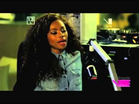 vuzu.tv: V Entertainment - Bonang on the Front Row