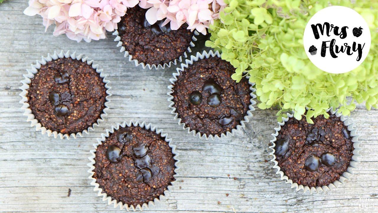 Gesunde Schoko Quinoa Muffins Unglaublich Lecker Ohne Zucker