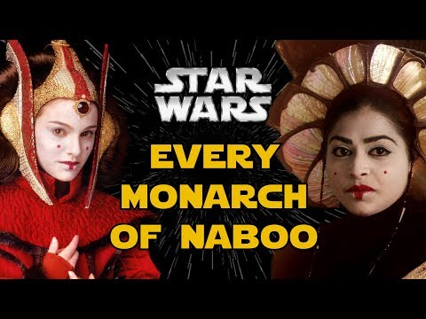 Every King and Queen of Naboo in Star Wars Canon and Legends
