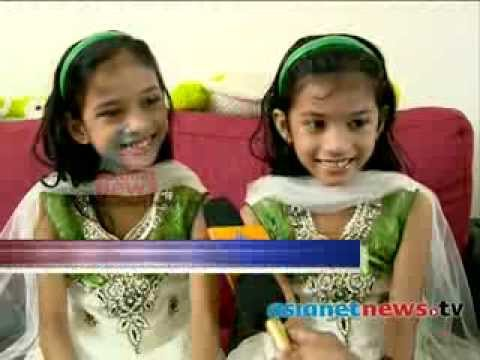 Safa and Marwa act in cinema : Children's  day special Travel Video