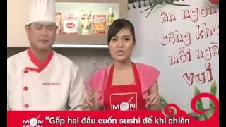 Hướng Dẫn Cách Nấu Ăn Món Sushi Chiên   Món Ngon Mỗi Ngày