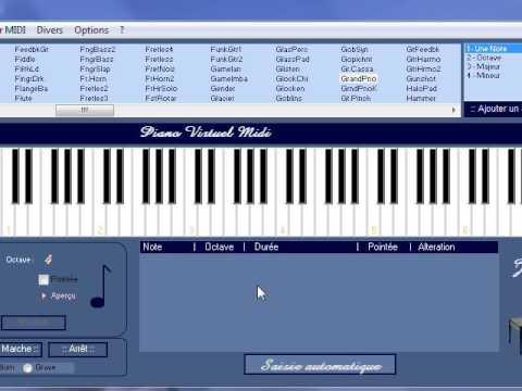 piano virtuel midi v6.1 gratuit