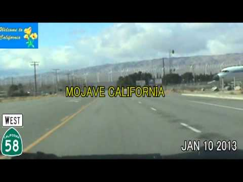 Las Vegas NV To Beverly Hiils CA Time Lapse Drive