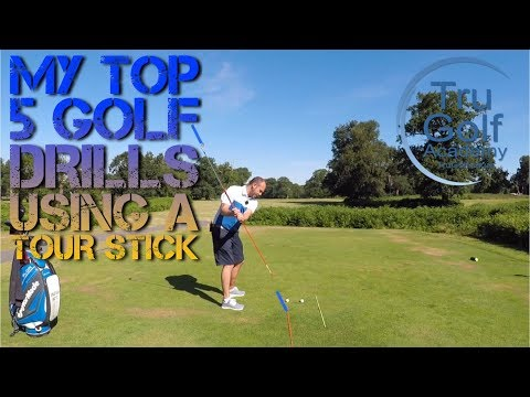 MY TOP 5 GOLF DRILLS USING A TOUR STICK