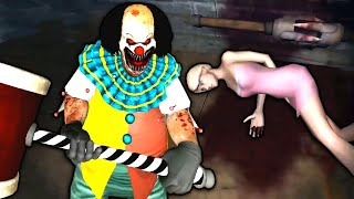 MAR GAI BECHARI | Horror Clown Pennywise Chapter 2 - Scary Escape Full Gameplay
