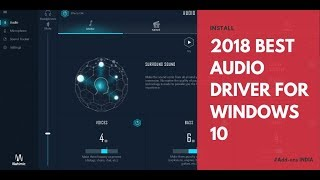 Скачать REPLACE YOUR AUDIO DRIVER With Nahimic 3 WINDOWS 10 3D SOUND EFFECT Add Ons INDIA