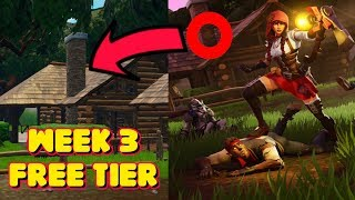 SEASON 6 WEEK 3 LOADING SCREEN SECRET FREE TIER LOCATION IN FORTNITE