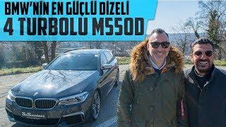 BMW'nin En Güçlü Dizeli | 4 Turbolu M550d