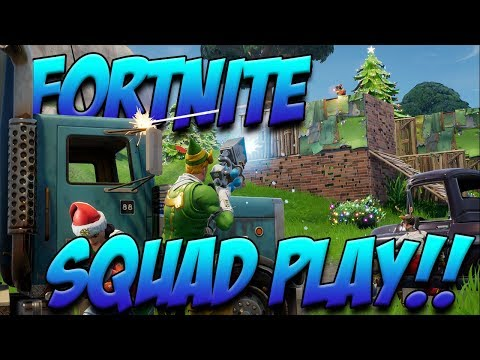Fortnite: Battle Royale Livestream with the Squad!!!