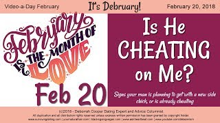 CHEATING BOYFRIEND: Signs of Cheating - How to Know He's Cheating on You