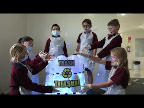 Stoke School's Trash to Treasure Fair Go Ad Award's 2016