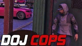 Dept. of Justice Cops #469 - I
