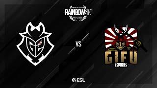 G2 Esports vs. GiFu eSports - Kafe - Rainbow Six Pro League - Season X - EU