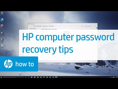 HP Computer Password Recovery And Tips: HP How To For You | HP Computers | HP