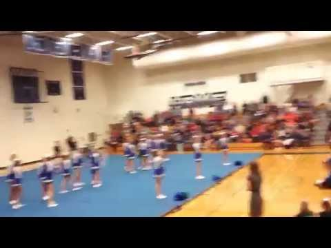 Thomas B. Doherty High School 2014 Cheer Competition (CO)