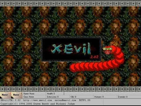 XEvil Game Review (Windows 95)