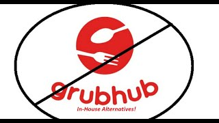 Are Restaurants shying away from Grubhub type apps?