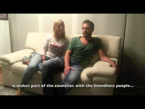 Two German Tourists Speak About Colombia (English Subtitles)