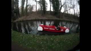 Water Pedal Car