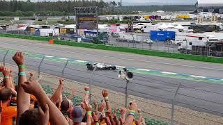 Spin and crash bottas german grand prix hockenheim  2019