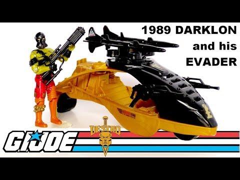 Air Commandos Aerial Craft Glider and Spirit v3 Figure G.I GI Joe 1989 Joe Vehicle