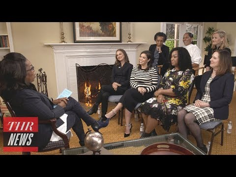 Hollywood Women Talk Time's Up Initiative, Woody Allen With Oprah Winfrey | THR News