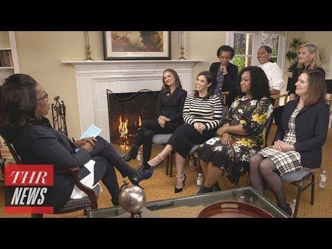 hollywood-women-talk-time's-up-initiative,-woody-allen-with-oprah-winfrey-|-thr-news
