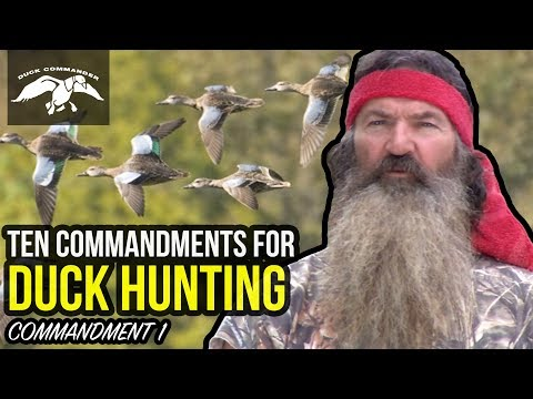 ENSURE POPULATIONS | Ten Commandments Of Duck Hunting | Duck Commander